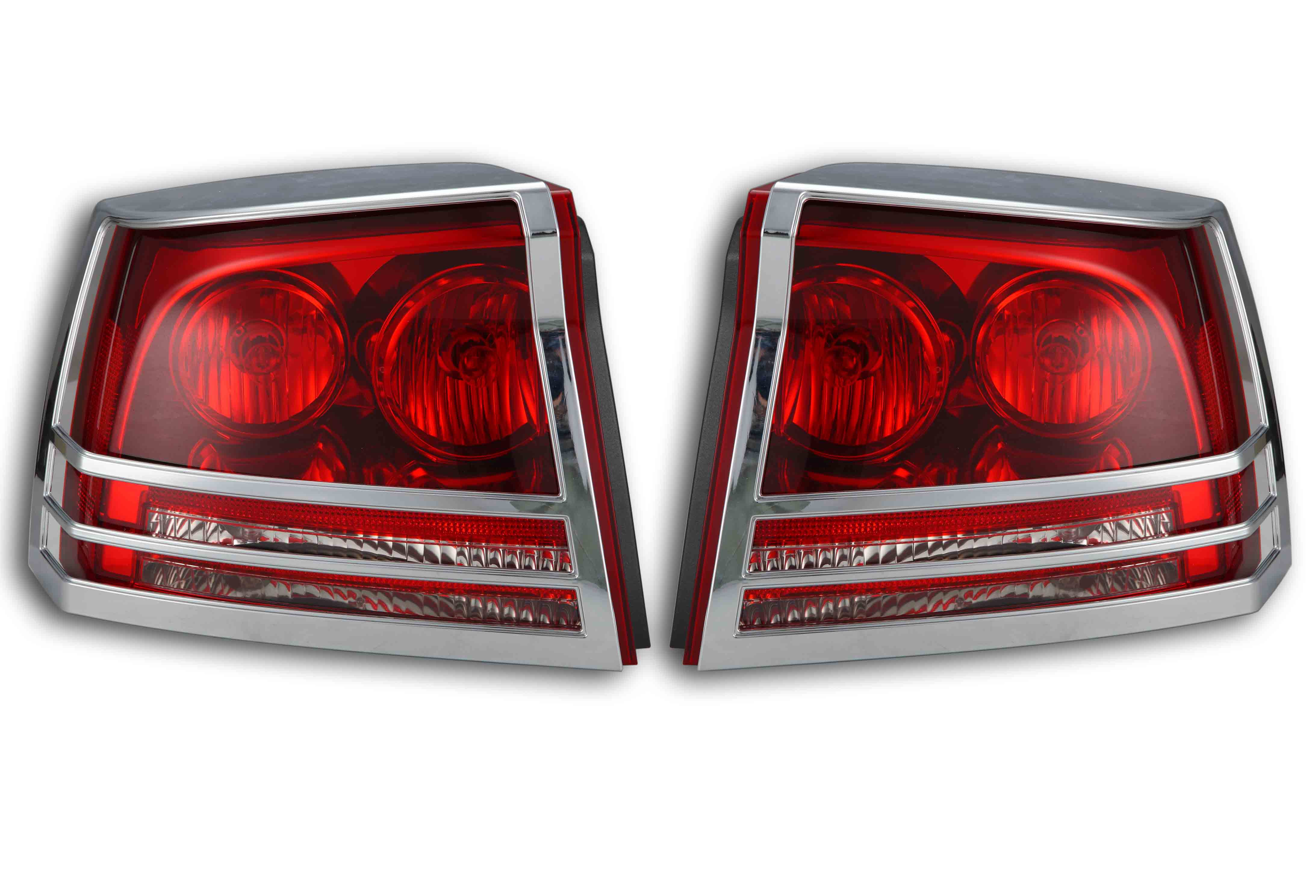 Dodge charger chrome taillight cover