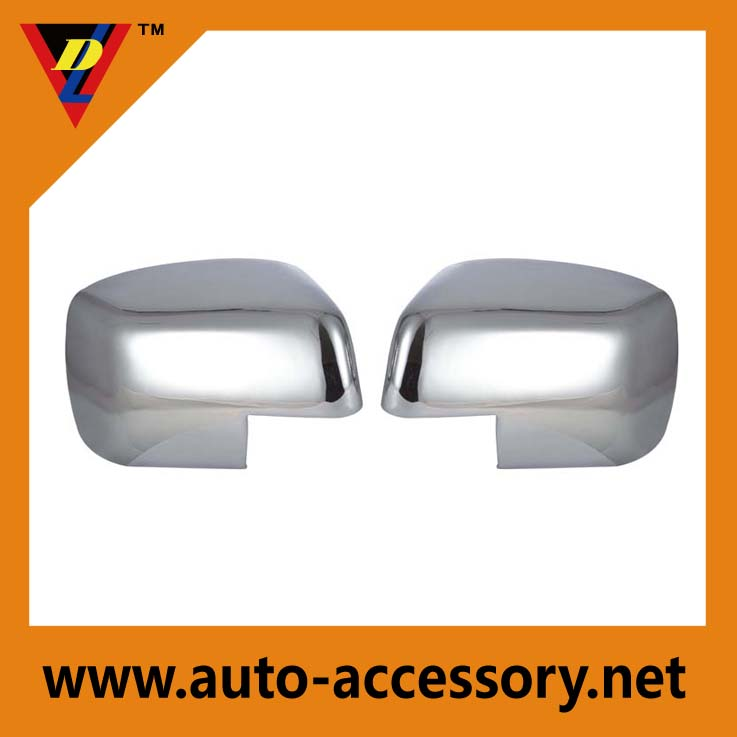 Chrome car side mirror covers