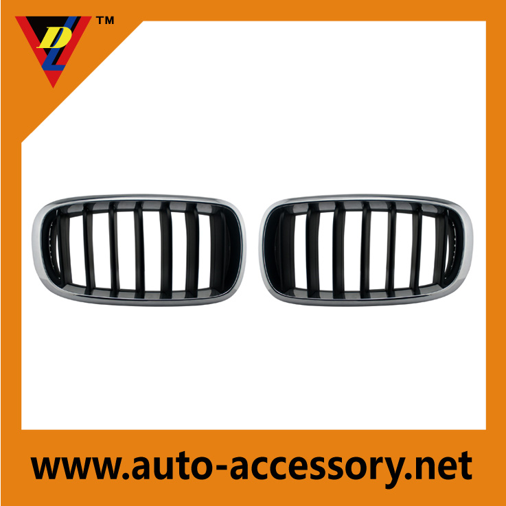 <b>High-grade plastic chrome front grill for cars</b>