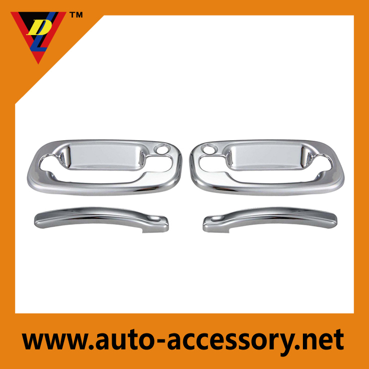 Chrome door handle cover chevy suburban accessories
