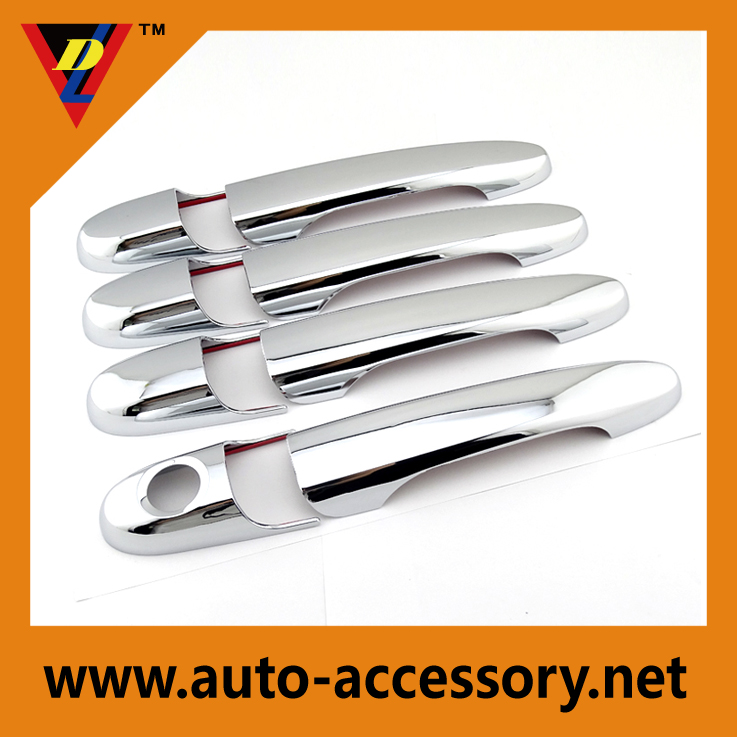 Chrome car handle covers