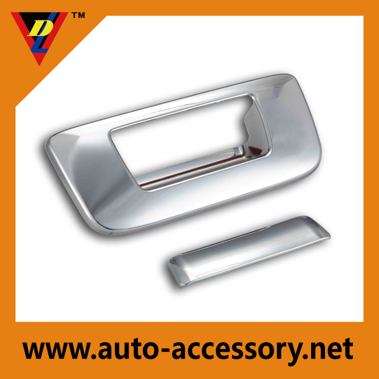 Chrome tailgate cover GMC sierra parts