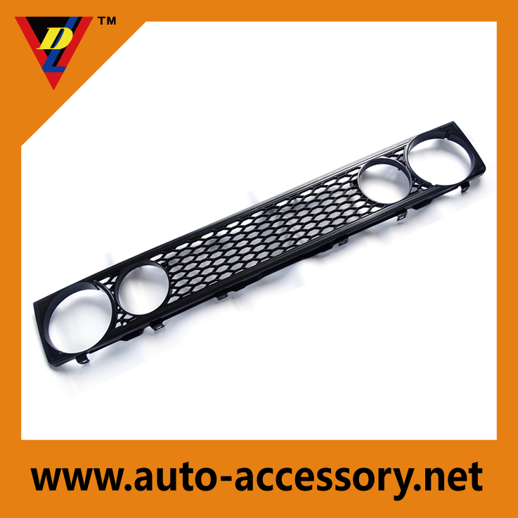 Black custom grilles for cars