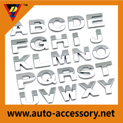 custom car letters badges 25mm for Volkswagen