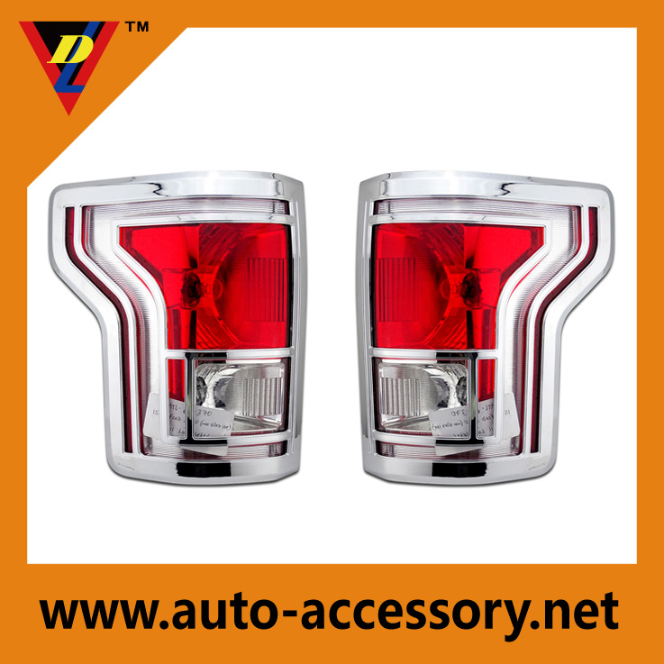 Chrome tail light cover for Ford parts F150 2015