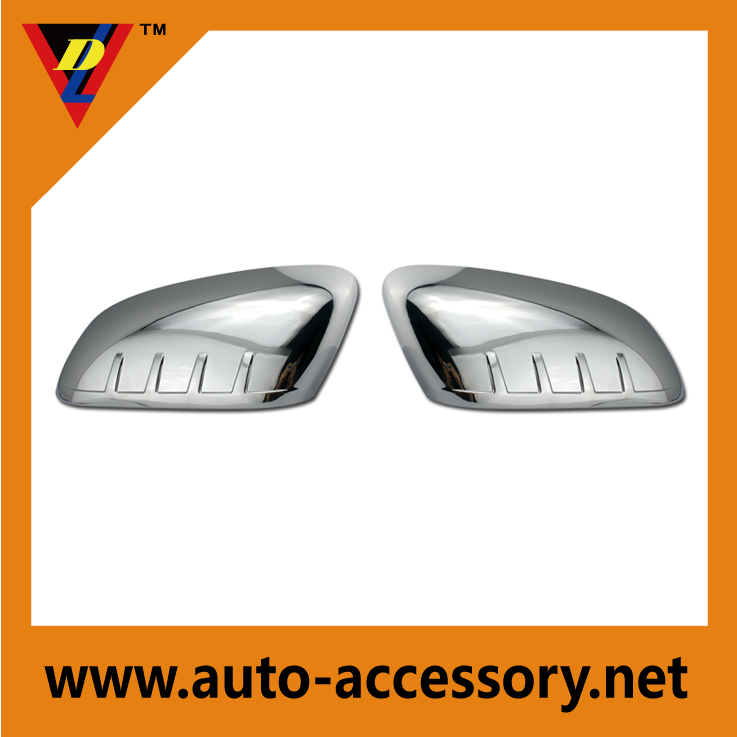 Chrome side view mirror cover replacement for 2011-2014 Ford Explorer