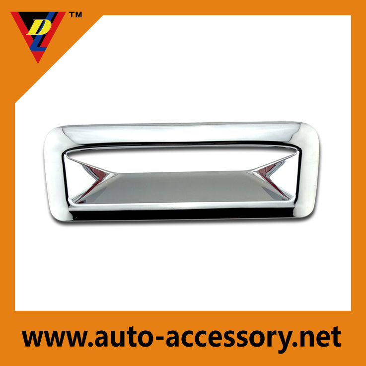 Chrome Tailgate Rear Door Handle Bowl Cover Trim For Ford Explorer 2011-2015