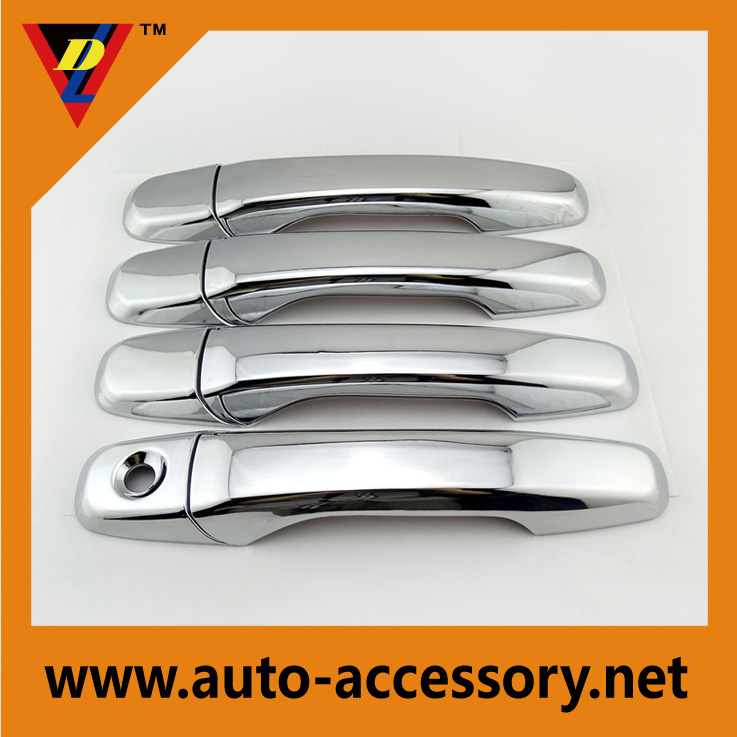 8pcs ABS Chrome Car Side Door Handle Cover Trim For Explorer 2011 2012 2013 2014
