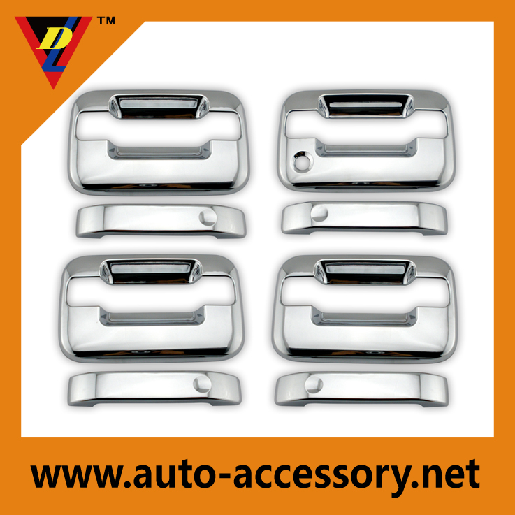 Chrome car door accessories for f150