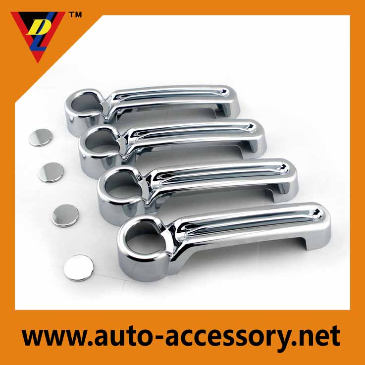 Chrome door molding OEM jeep parts and accessories