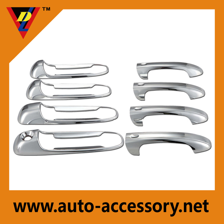 Chrome truck door handle covers dodge ram parts and accessories