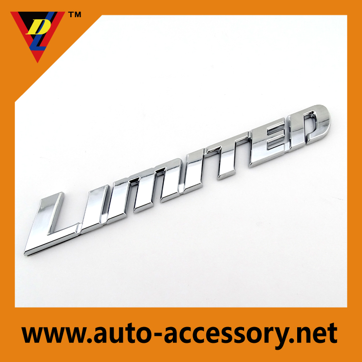 limited design emblem definition auto parts catalogue