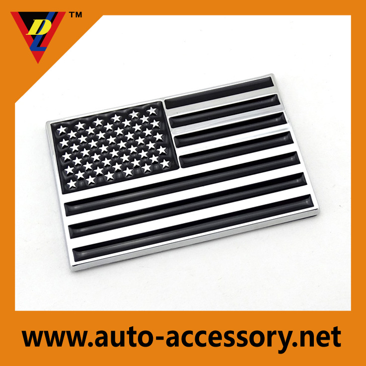 USA Flag car and truck logos for designers