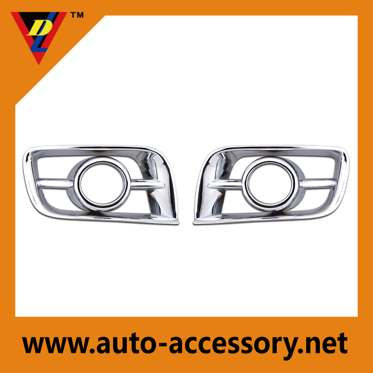 Chrome fog lights covers of toyota hiace accessories