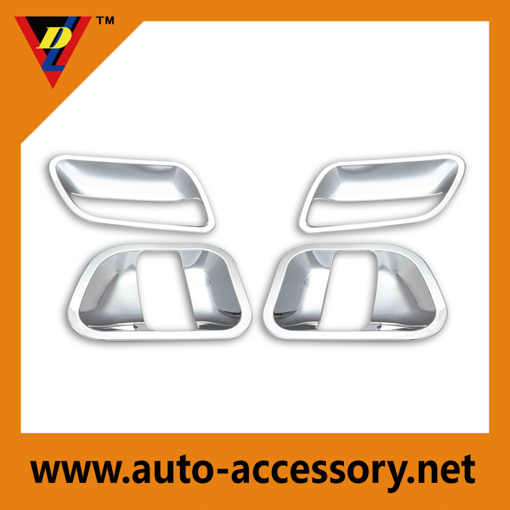 External door handles of toyota hiace van chrome accessories