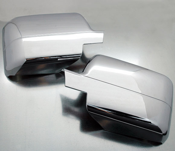Ford F150 plastic chrome side mirror cover