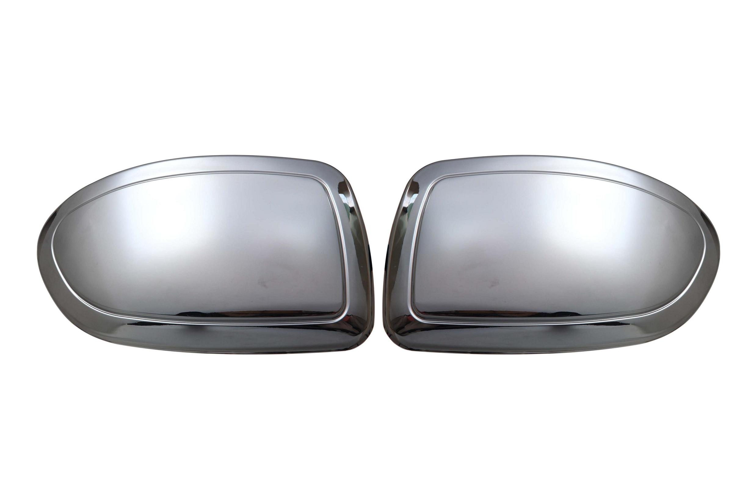High grade plastic chrome side rear view mirror cover